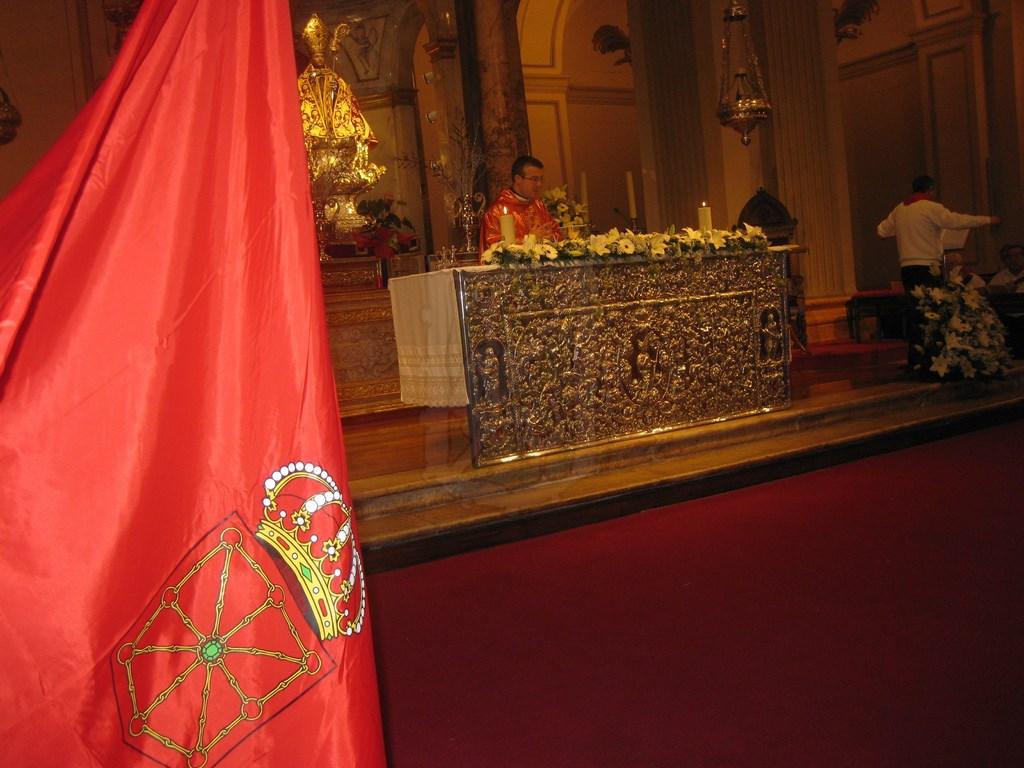 Misa Navarra en la Capilla de San Fermín