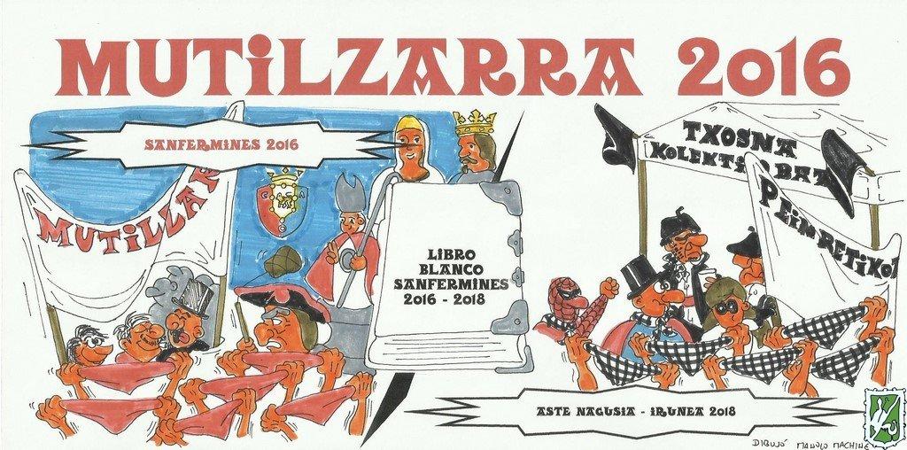 PancartaMutilzarraSanFermin2016